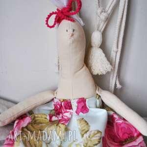 prezenty świąteczne Pani Królik , zabawka, przytulanka, prezent, pod, choinkę, święta