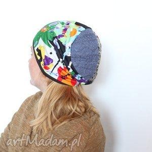 czapki czapka a homoseksulane pingwiny zakładają rodziny, czapka, kolorowa, damska