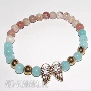czaki bransoletki skrzydełka, wings, glamour, modna, kamienie, lato