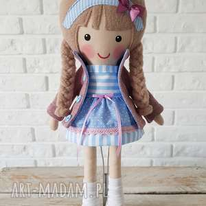 ręcznie zrobione lalki malowana lala blanka