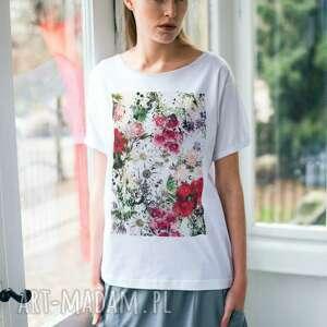 Kwiaty Oversize T-shirt, oversize
