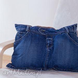 poduszki poduszka jeans mini spódniczka , poduszka, jeans, recykling