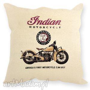 poduszki poduszka indian scout, poduszka, indian, motor, świąteczny prezent