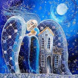 obraz pt dom to miejsce, gdzie zaczynają się miłość, nadzieja, marzenia
