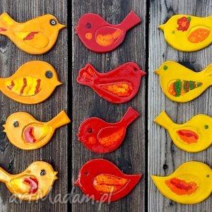 Ptaszki ceramiczne ROY. Uzupełnienie decoupage
