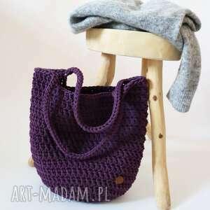 torebki torba szydełkowa na zakupytorba, zakupy, miejska