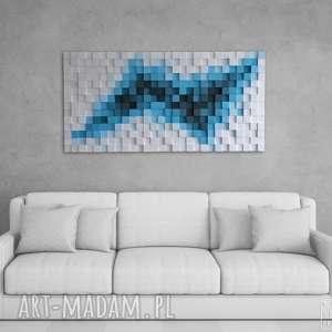 ręcznie robione dekoracje obraz drewniany 3d mozaika drewniana