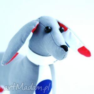 pies jamnik - pies, jamnik, maskotka, zabawka, dziecko, pokój