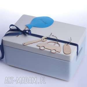 pudełko na pamiątkę narodziny chrzest - kuferek, prezent, kuferek