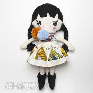 Bawełniana Lalka LALALILA - Poofy Cat, lalka, lala, laleczka, szmaciana, materiałowa,
