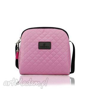 mini simple color 163, torebka, mini, różowa