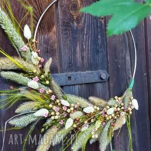 unikalne, dekor wianek jesienny, na drzwi, ścianę, dekoracja