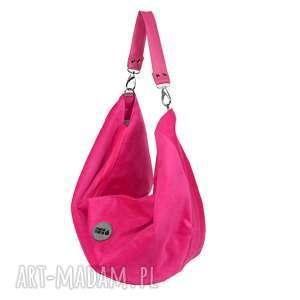 TORBA NA RAMIĘ VOOR MINI FUKSJA, torbo-plecak, torba-na-plecy, duża-torba