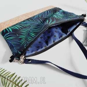 kopertówka gałązki palmy - HandMade