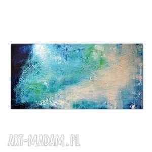 obrazy głębia 15, abstrakcja, nowoczesny obraz ręcznie malowany