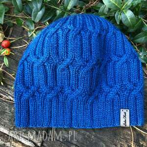 czapka pajęczynka, ciepła czapka, wełniana, zimowa
