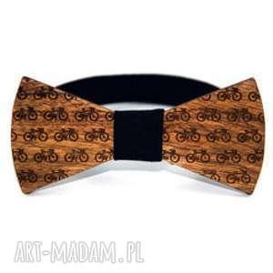 oryginalny prezent, the bow ties muszka drewniana #9, drewno, mucha, muszka