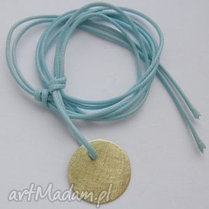 ręcznie wykonane wisiorki okrąg wisiorek