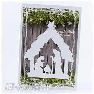 ręcznie robione pomysł na świąteczny prezent boże narodzenie - kartka