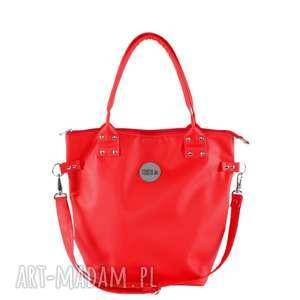 TORBA WOREK WATERPROOF ALL RED, wygodna, czerwona, na-zakupy, pojemna, do-szkoły