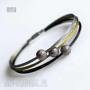 Black Gold Silver Slim, industrial, prostotoa, elegancja, minimalizm, kulki