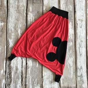 spodnie miki pants-spodnie, boho, alladyny, tajskie spodnie, folk, szarawary