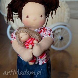 lalki laura lalka waldorfska, lalka, mojalala, szmaciana, prezent