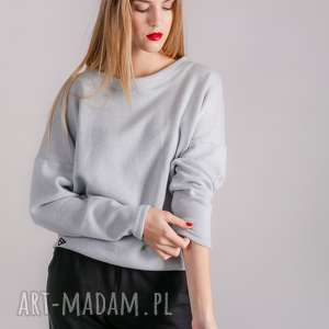 Sweterek klasyczny szary enjoyable swetry trzyforu swetr