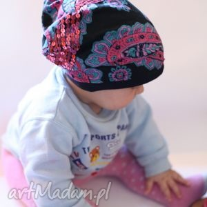 hand-made czapki mamo chce taką samą