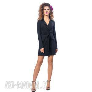 żakietowa sukienka mini, żakietowa, elegancka