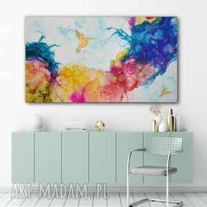 Art Is Hard Gallery? Obraz ręcznie malowany - 140X80 cm
