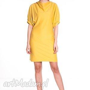 Sukienka Marcela - żółta, moda