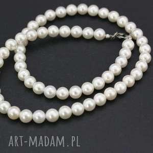 naszyjnik perły seashell, naszyjnik, perły, sznur, stal, szlachetna