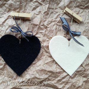 dekoracje serduszko dekoracyjne z filcu, serce, serduszko, prezent, scienne, okienne