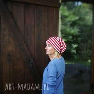 czapka damska męska unisex patriotka kibic biało-czerwoni, czapka, etno, kolorowa