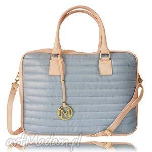 ręczne wykonanie na laptopa manzana biznes styl torba na laptopa, baby blue