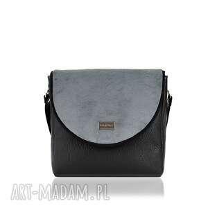 torebka puro 875 gray, torebka, pikowana, pluszowa, szara, rękodzieło