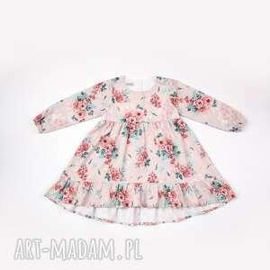 Sukienka róża patchworkmoda sukienka, bawełna, prezent, róża