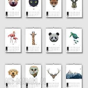 Kalendarz 12 plakatów LFD, kalendarze, dom, grafika, plakat, 2019