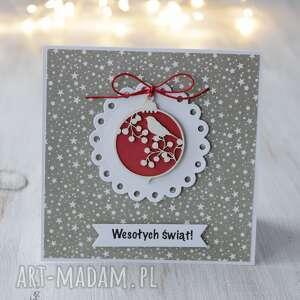 kartka świąteczna na boże narodzenie - święta