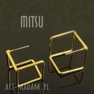 industrial gym, geometryczne, geometria, nowoczesne, kubiki, złote, oryginalne