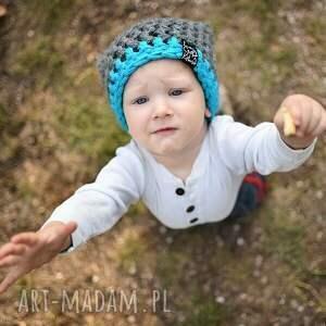 ręcznie zrobione dla dziecka czapka inferiorek 07