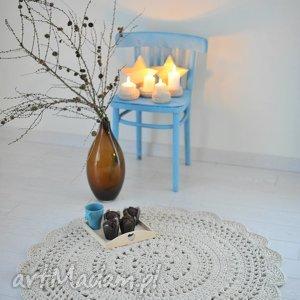 dywanik średnica 100 cm, dywan, serwetka, sznurkowy
