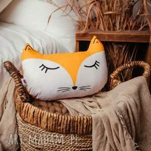 prezent na święta, dla dziecka poduszka leśna-lis, poduszka, pokój