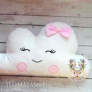 pokoik dziecka poduszka uśmiechnięta chmurka, poduszka, chmurka, zabawki