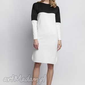 handmade sukienki sukienka, suk107 ecru