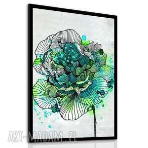 obraz drukowany na płotnie z kwiat, roślina, róża w formacie 50x70cm, roślina