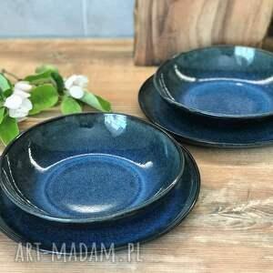 ceramika zestaw ceramiczny dla dwojga - 2 x talerz plus miska