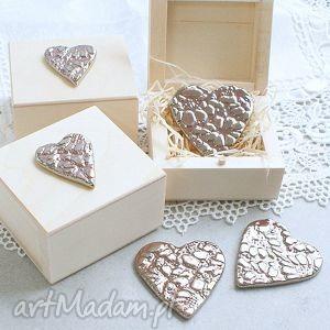 Prezent Serduszko z miłości, serce, pudełko, walentyki, upominek, magnes, romantyczne