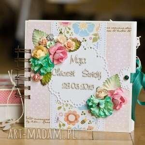 handmade scrapbooking albumy album dla pani adrianny